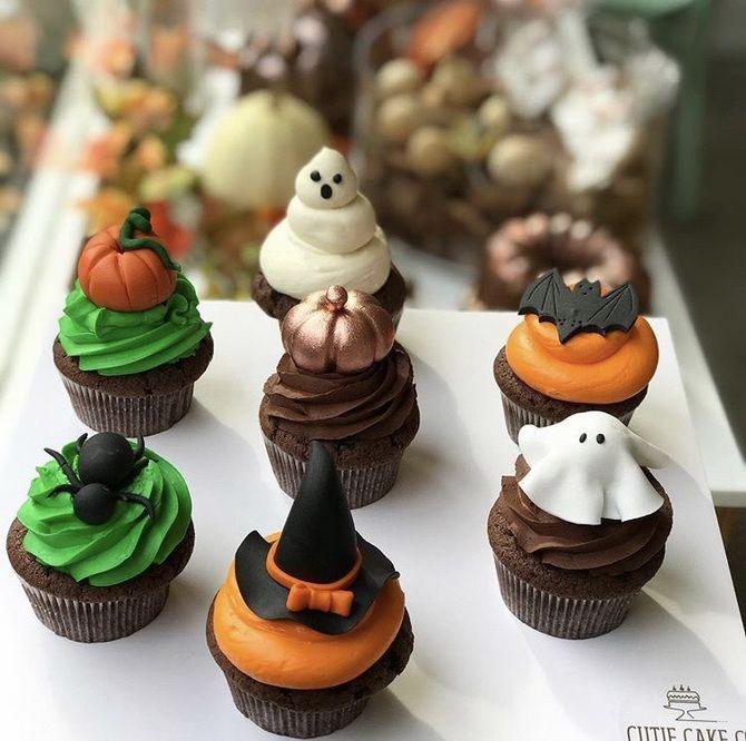Капкейки на Хэллоуин: варианты декора для ужасно популярного лакомства 6