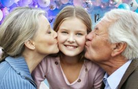 Привітання з днем народження внучці: проза, вірші, картинки