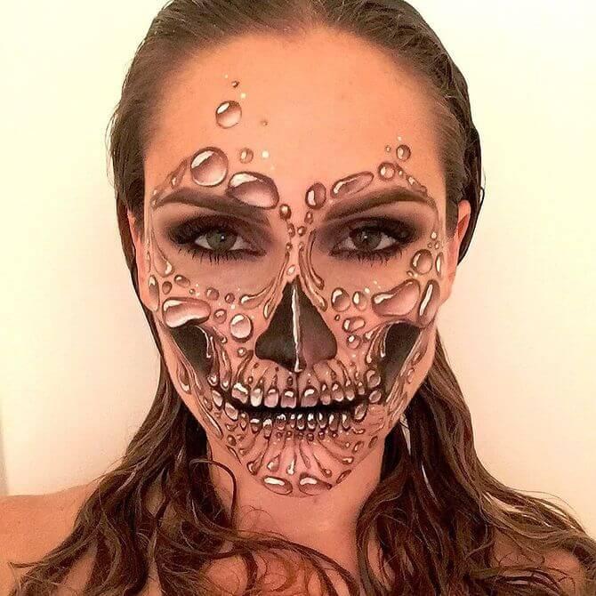 Напугать, удивить, очаровать: грим на Хэллоуин-2020 16