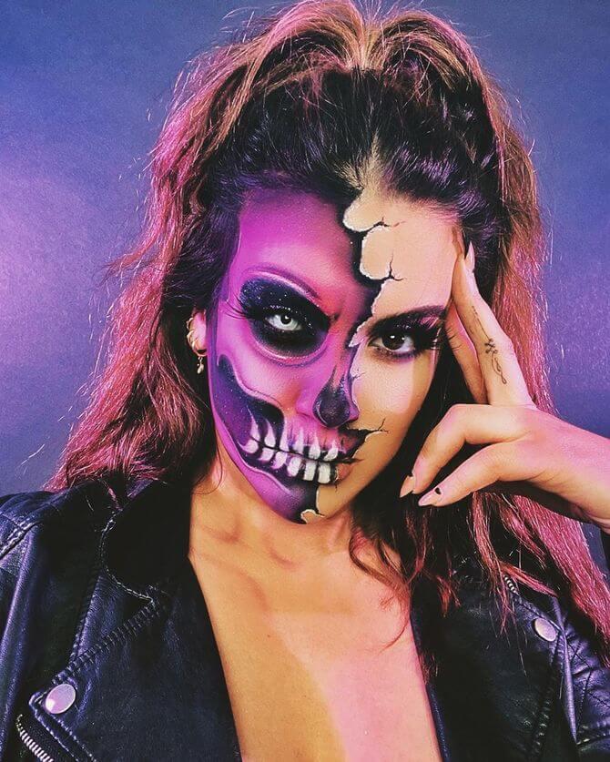 Напугать, удивить, очаровать: грим на Хэллоуин-2020 17
