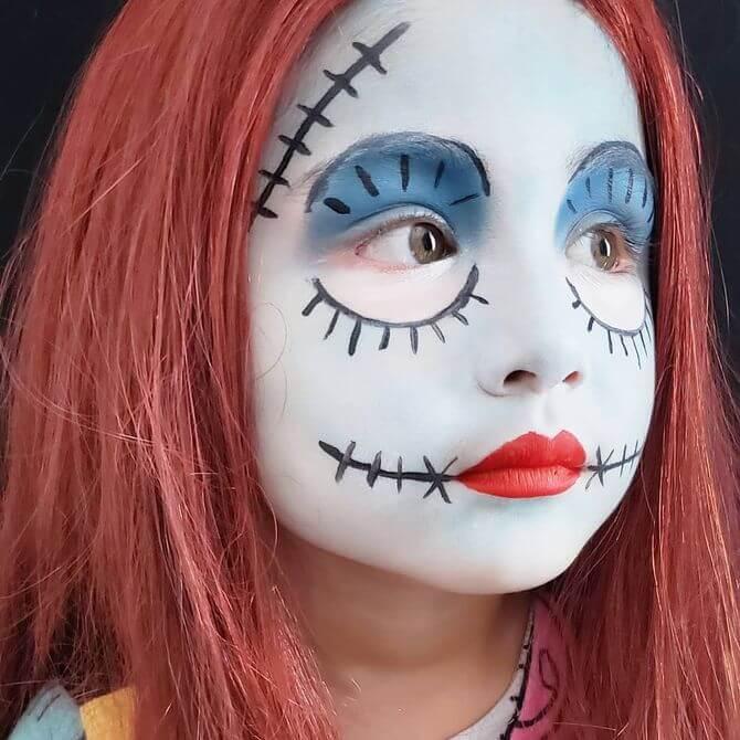 Напугать, удивить, очаровать: грим на Хэллоуин-2020 37