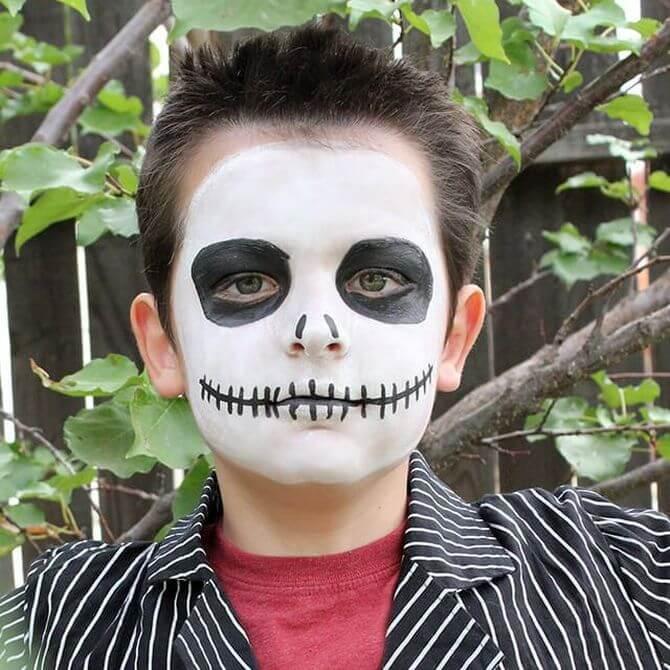 Напугать, удивить, очаровать: грим на Хэллоуин-2020 42