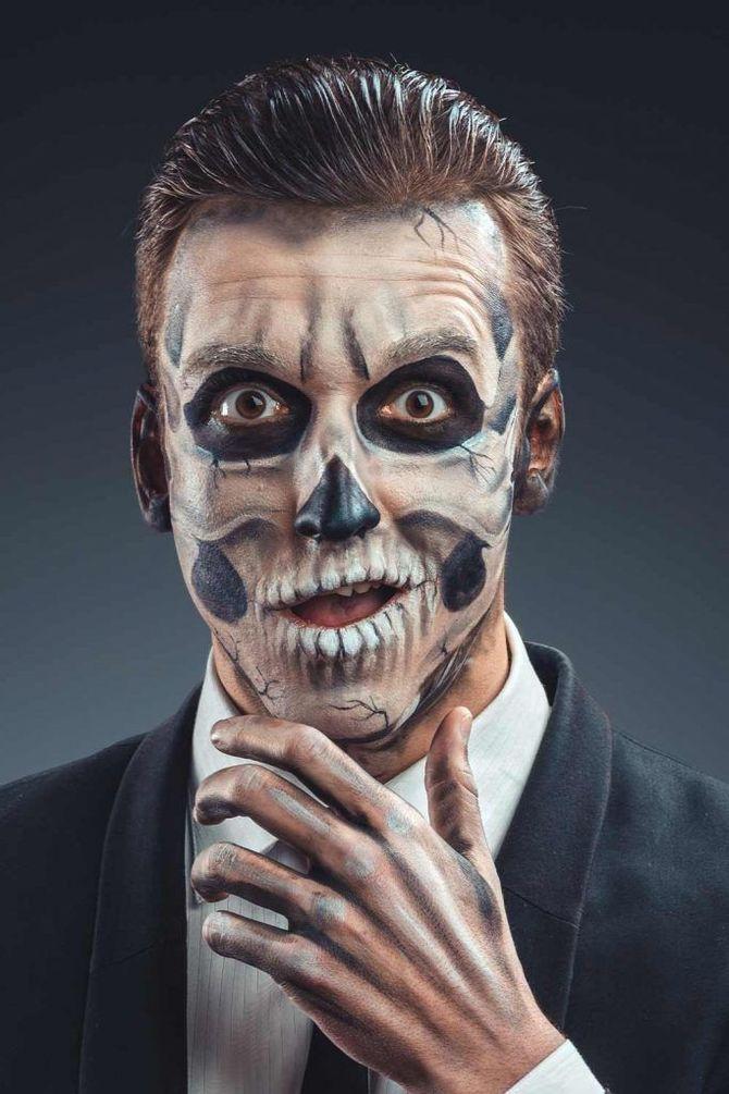 Напугать, удивить, очаровать: грим на Хэллоуин-2020 26