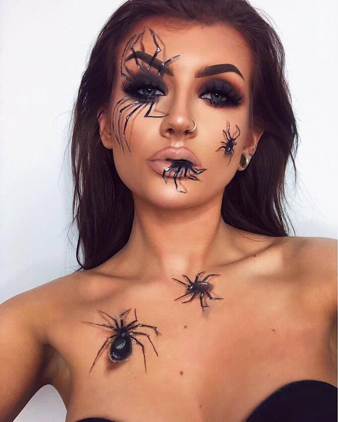 Напугать, удивить, очаровать: грим на Хэллоуин-2020 8