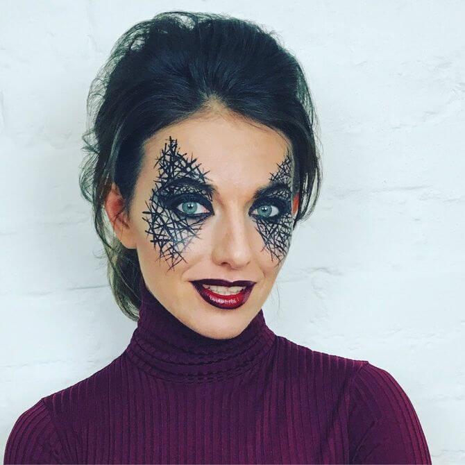 Напугать, удивить, очаровать: грим на Хэллоуин-2020 6