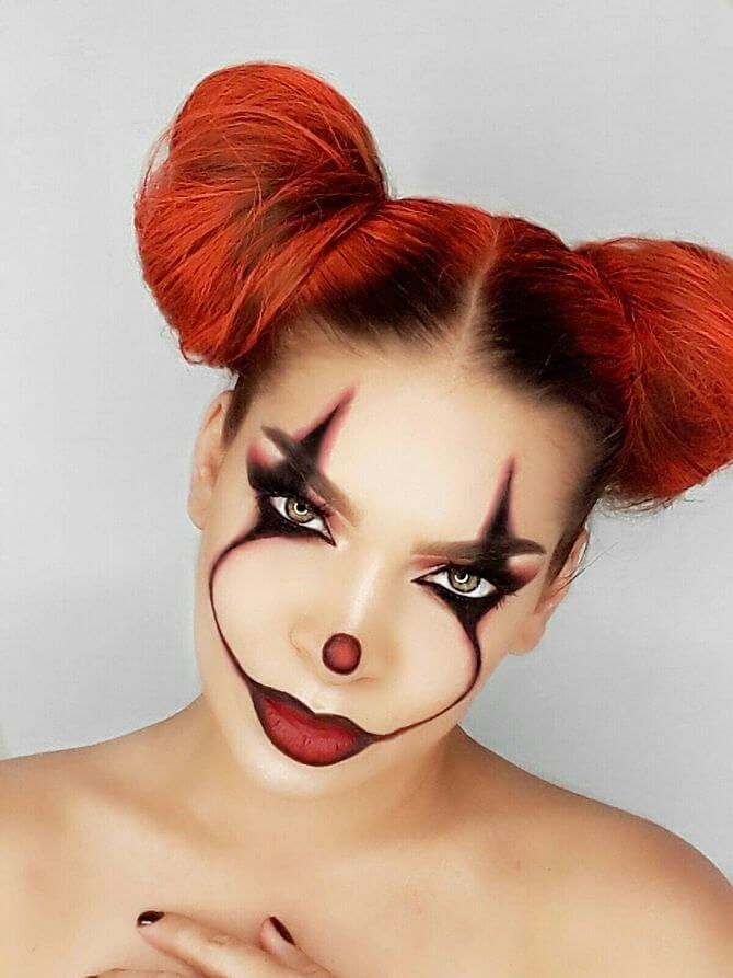Напугать, удивить, очаровать: грим на Хэллоуин-2020 19
