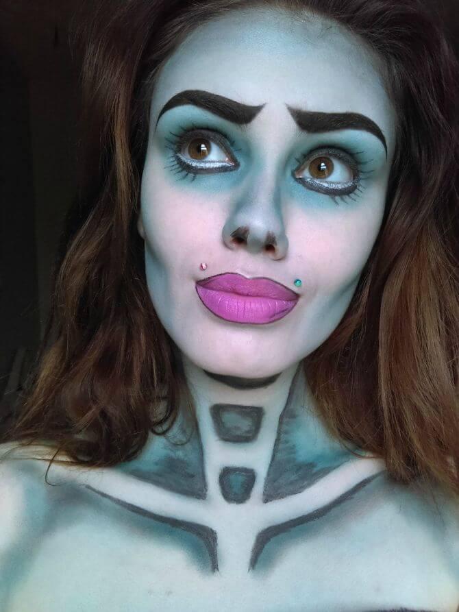 Напугать, удивить, очаровать: грим на Хэллоуин-2020 22