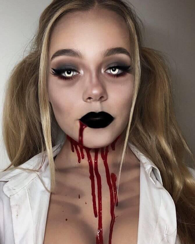 Напугать, удивить, очаровать: грим на Хэллоуин-2020 15