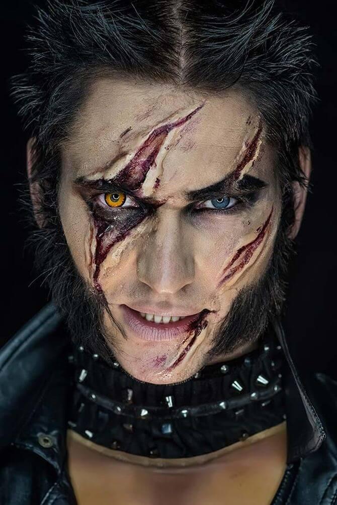 Напугать, удивить, очаровать: грим на Хэллоуин-2020 33
