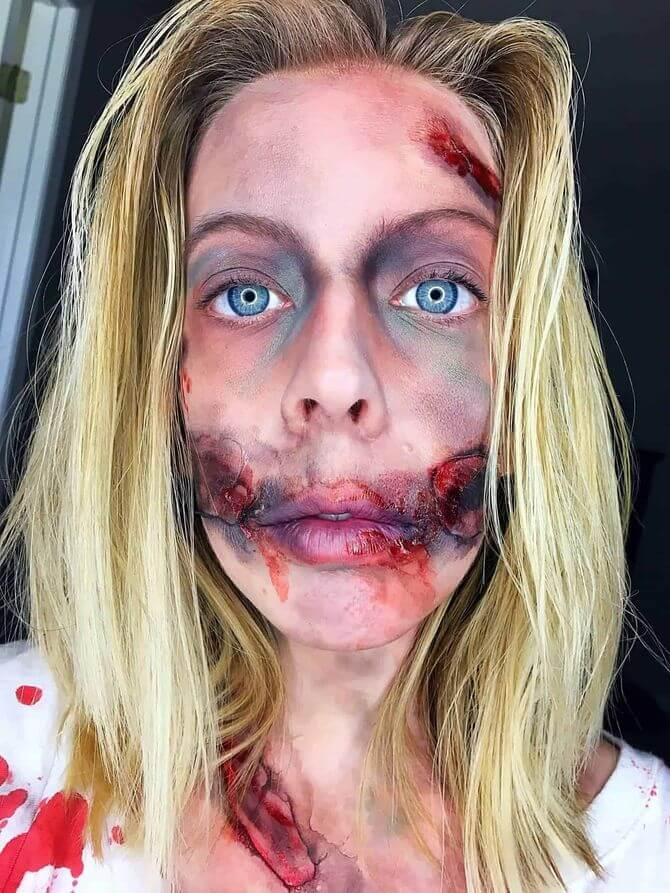 Напугать, удивить, очаровать: грим на Хэллоуин-2020 13