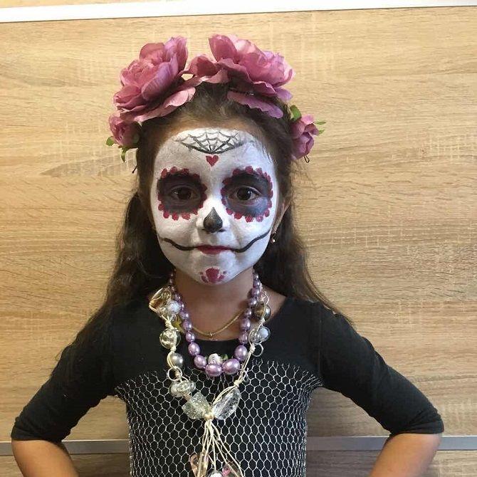 Страшно, весело и ярко:  20+ крутых идей макияжа для детей на Хэллоуин – фото, мастер-классы на видео 1