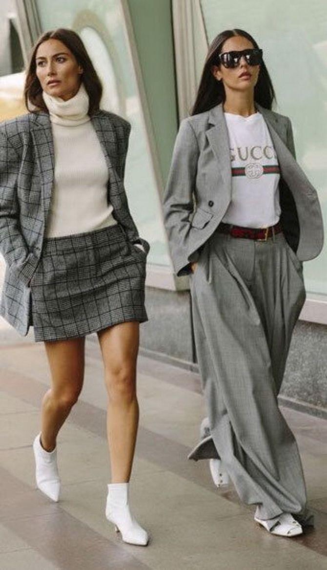 Юбка-брюки — как носить в сезоне осень-зима 2020-2021 11
