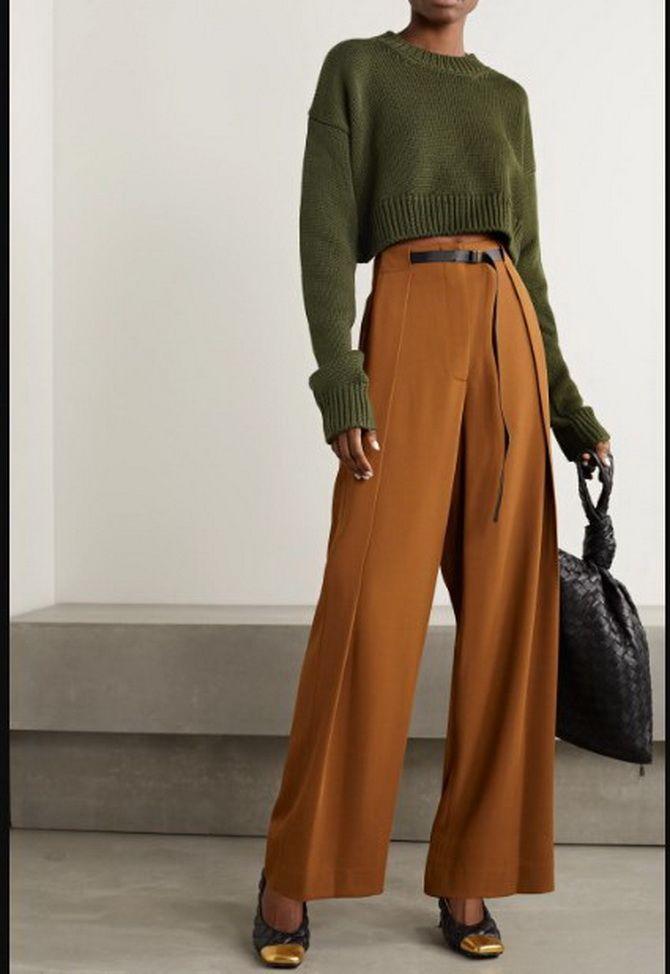 Юбка-брюки — как носить в сезоне осень-зима 2020-2021 13