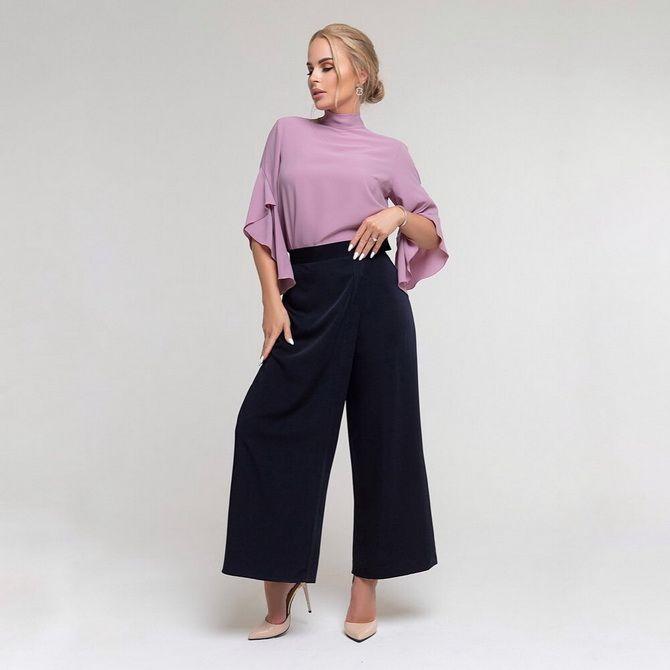 Юбка-брюки — как носить в сезоне осень-зима 2020-2021 15