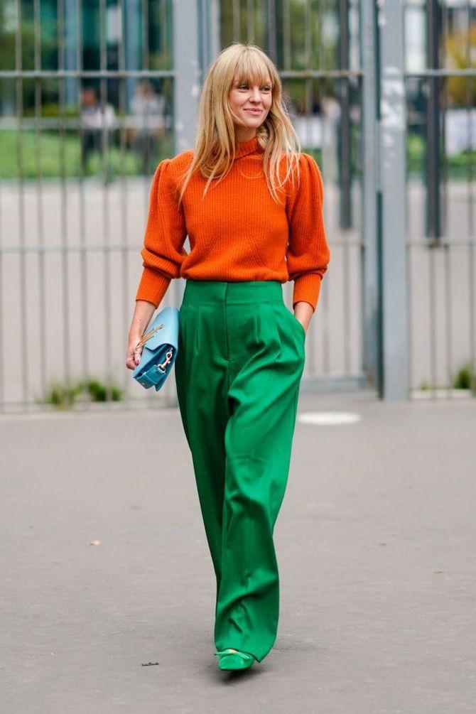 Юбка-брюки — как носить в сезоне осень-зима 2020-2021 2