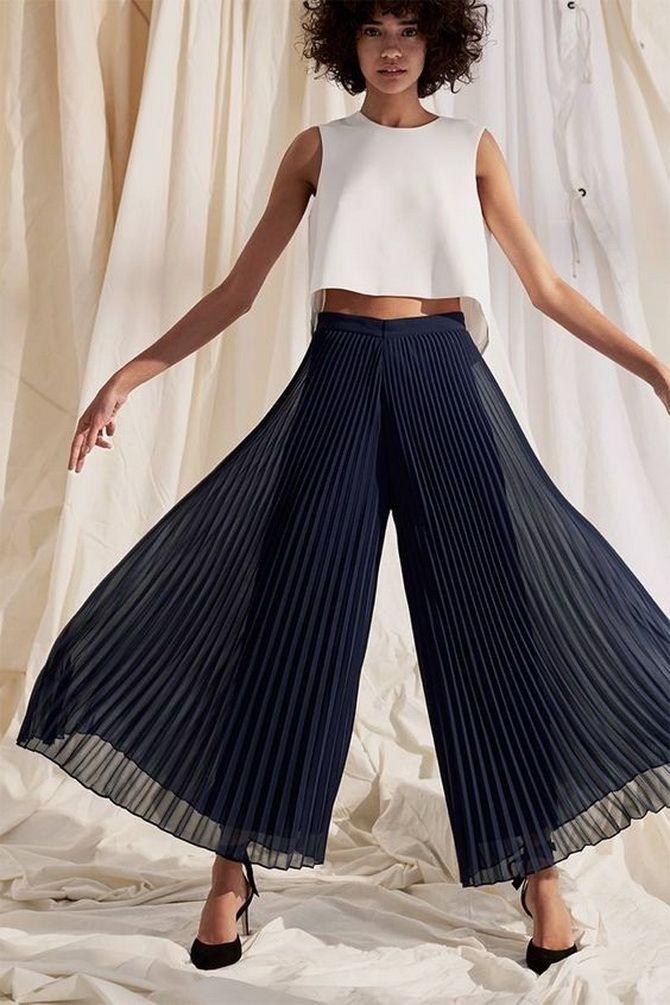 Юбка-брюки — как носить в сезоне осень-зима 2020-2021 19