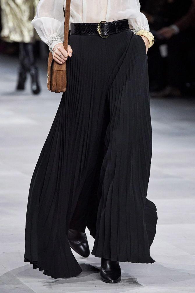 Юбка-брюки — как носить в сезоне осень-зима 2020-2021 21