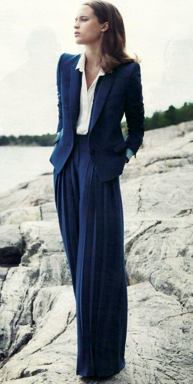 Юбка-брюки — как носить в сезоне осень-зима 2020-2021 22