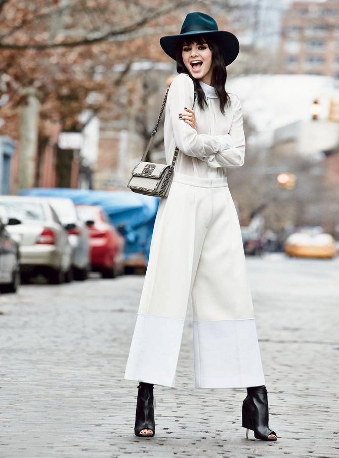 Юбка-брюки — как носить в сезоне осень-зима 2020-2021 23