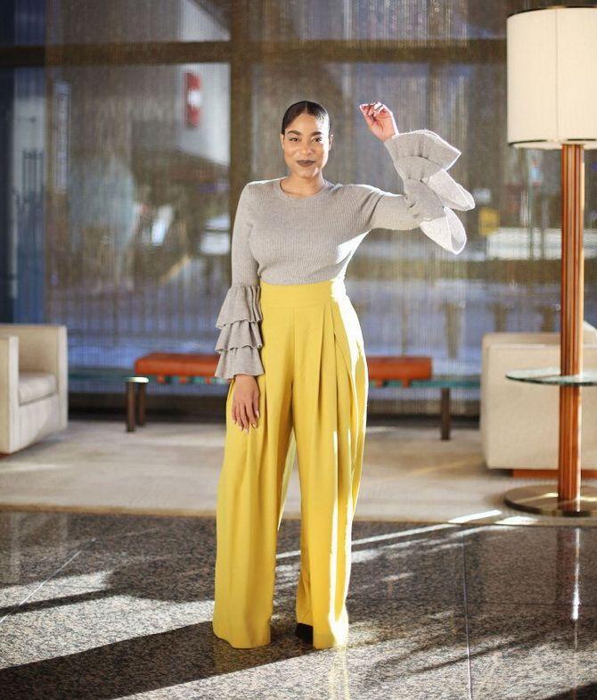Юбка-брюки — как носить в сезоне осень-зима 2020-2021 3