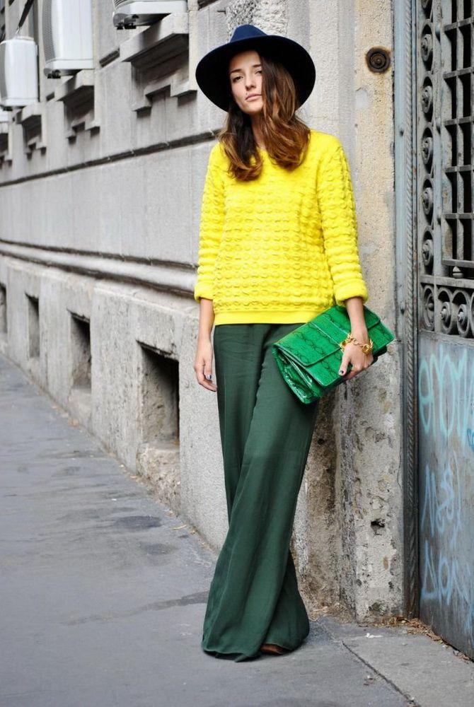 Юбка-брюки — как носить в сезоне осень-зима 2020-2021 4