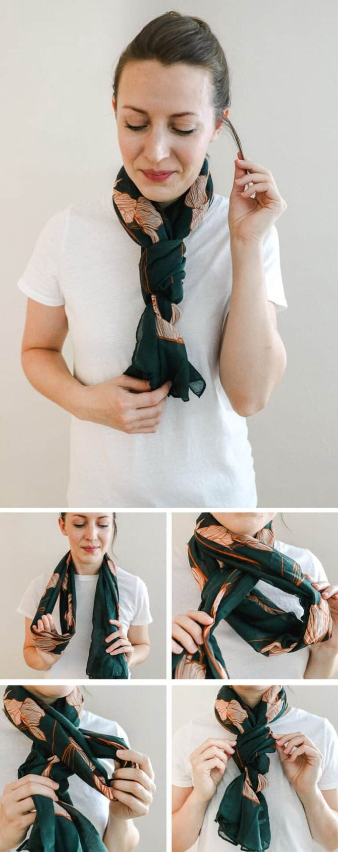 Как красиво завязать шарф: 19 лучших способов 1