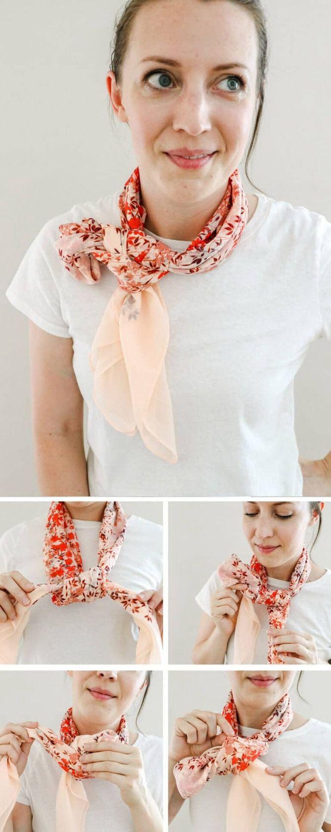 Как красиво завязать шарф: 19 лучших способов 16