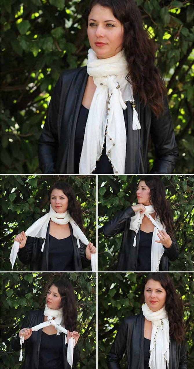 Як гарно зав'язати шарф: 19 найкращих способів 19