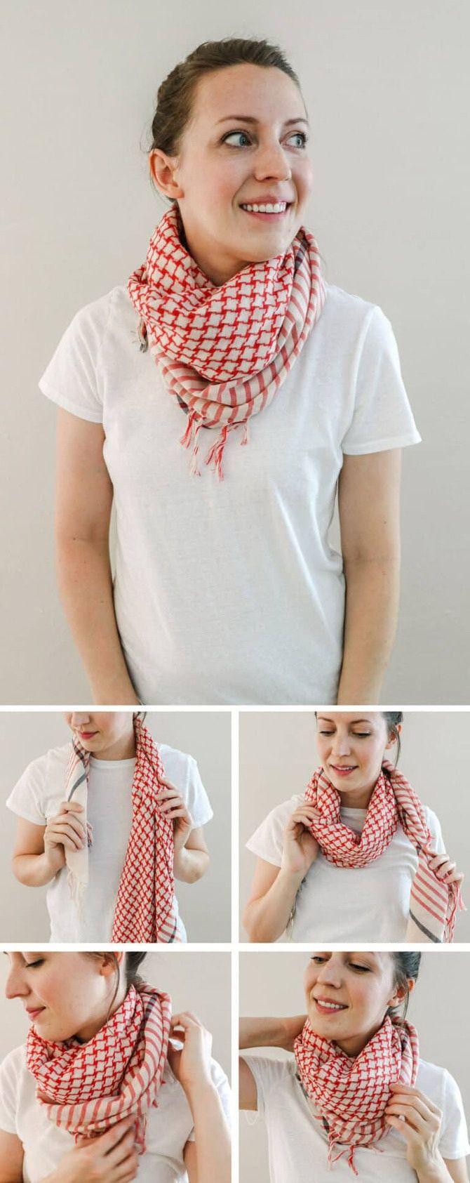 Як гарно зав'язати шарф: 19 найкращих способів 2