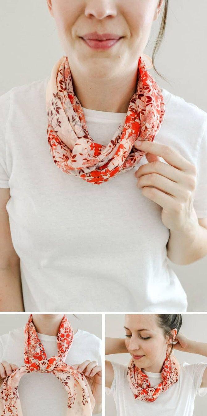 Як гарно зав'язати шарф: 19 найкращих способів 20