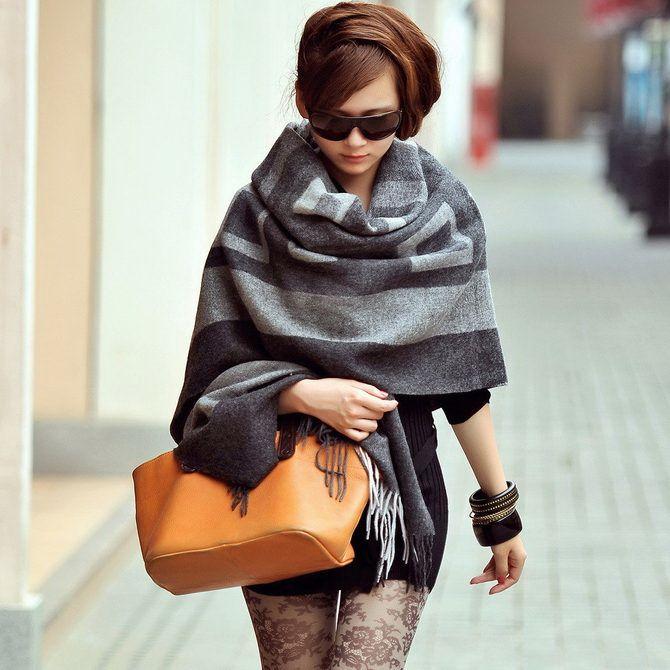 Как красиво завязать шарф: 19 лучших способов 27