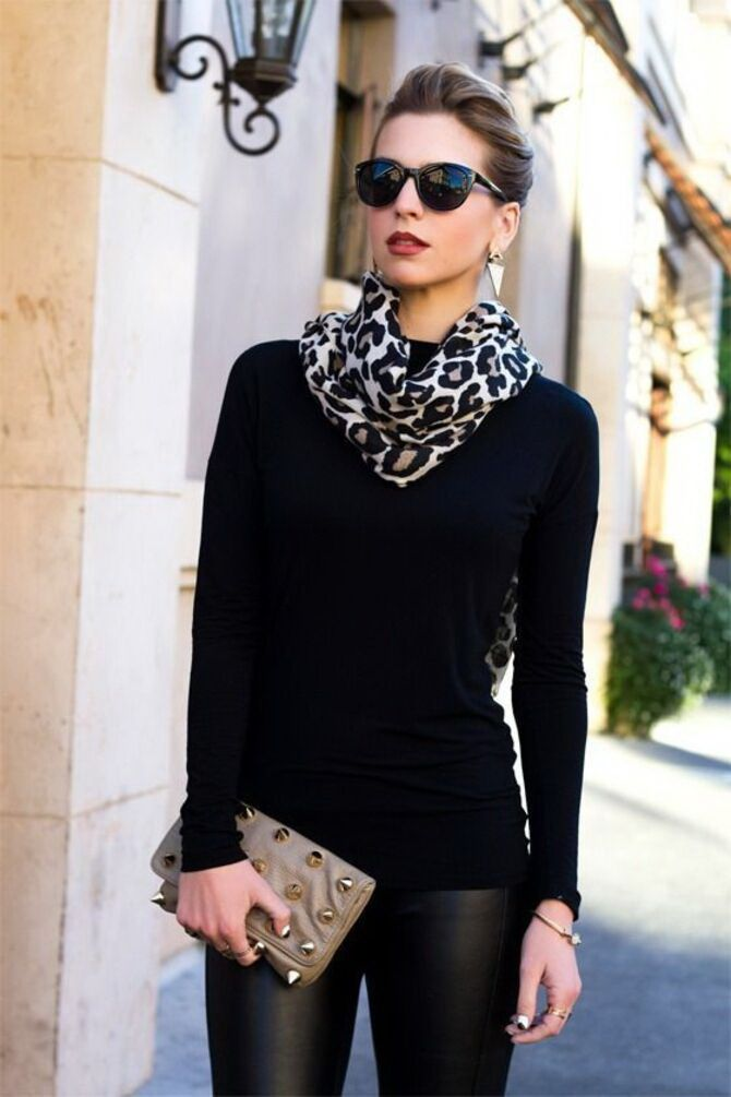 Як гарно зав'язати шарф: 19 найкращих способів 30