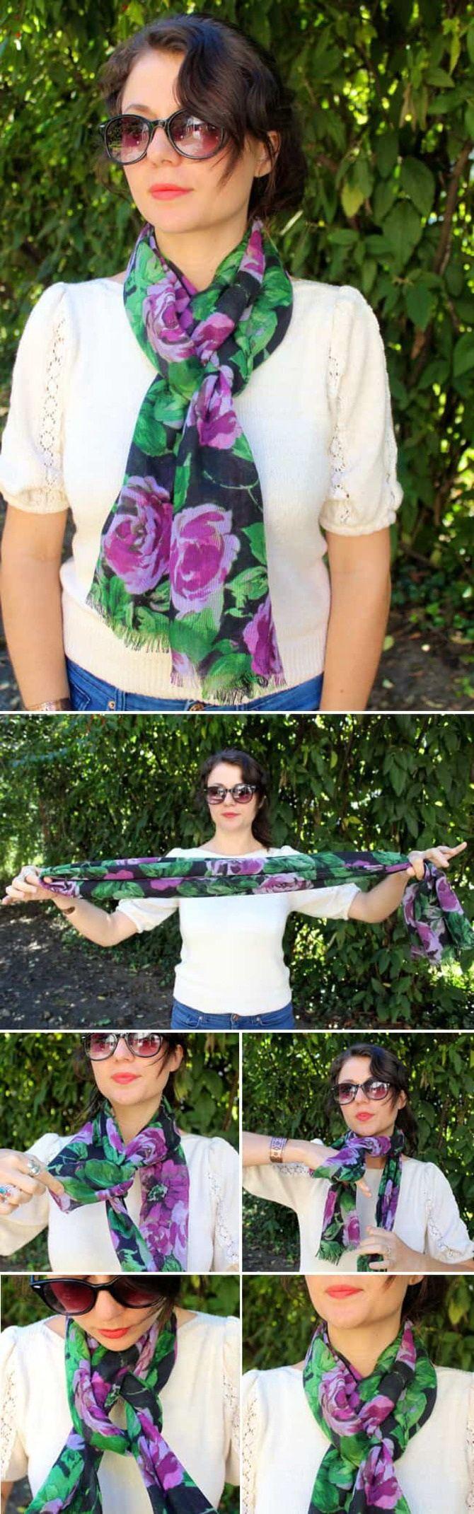Як гарно зав'язати шарф: 19 найкращих способів 7