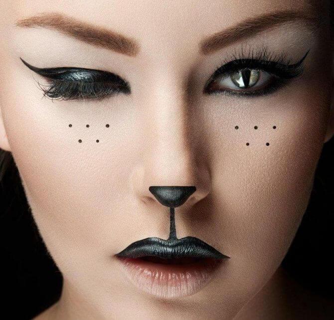 61 жуткая, но красива идея макияжа на Хэллоуин 2020 18