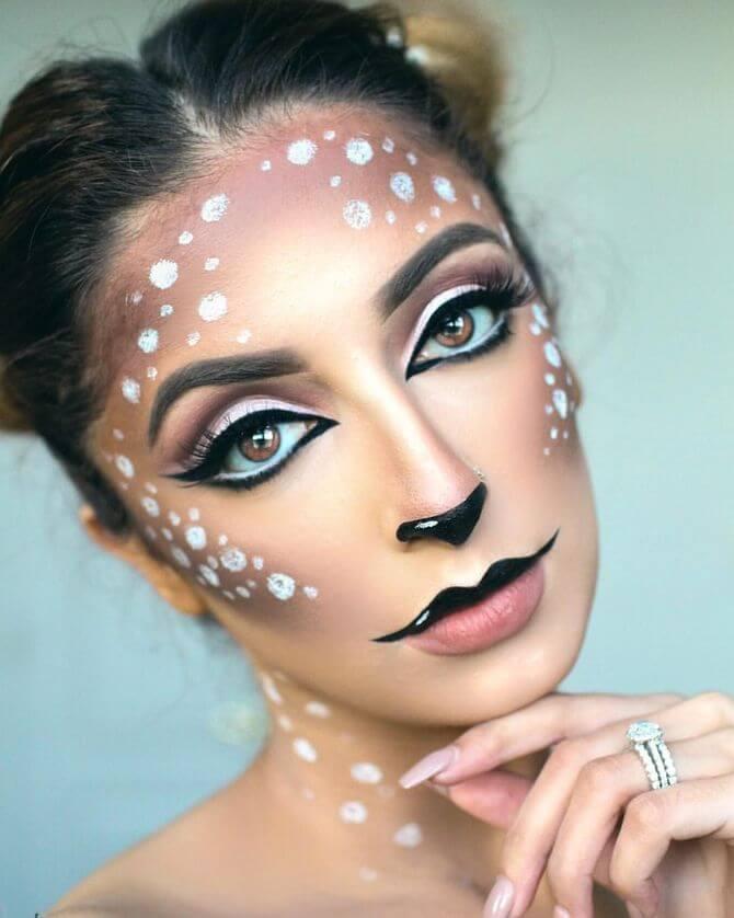 61 жуткая, но красива идея макияжа на Хэллоуин 2020 21