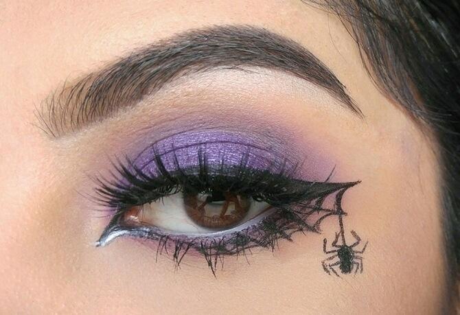 61 жуткая, но красива идея макияжа на Хэллоуин 2020 2