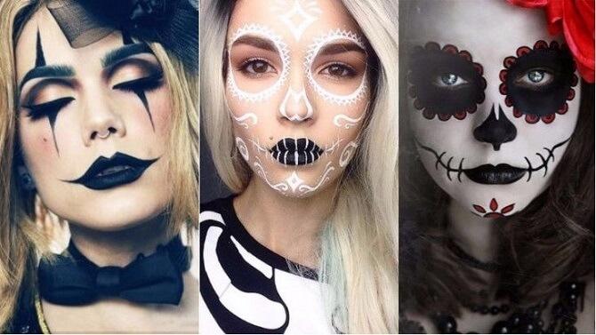 Легкий макияж на Хэллоуин: самые крутые идеи для взрослых и детей 1