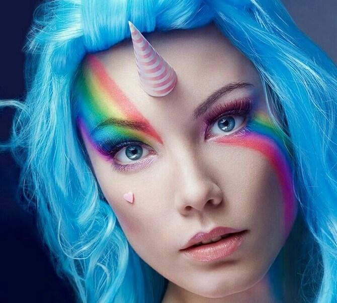 Легкий макияж на Хэллоуин: самые крутые идеи для взрослых и детей 3