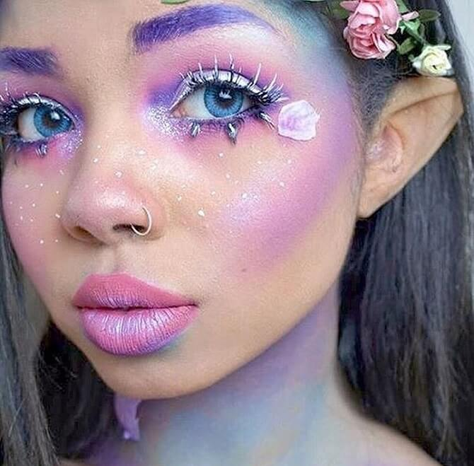 Легкий макияж на Хэллоуин: самые крутые идеи для взрослых и детей 4