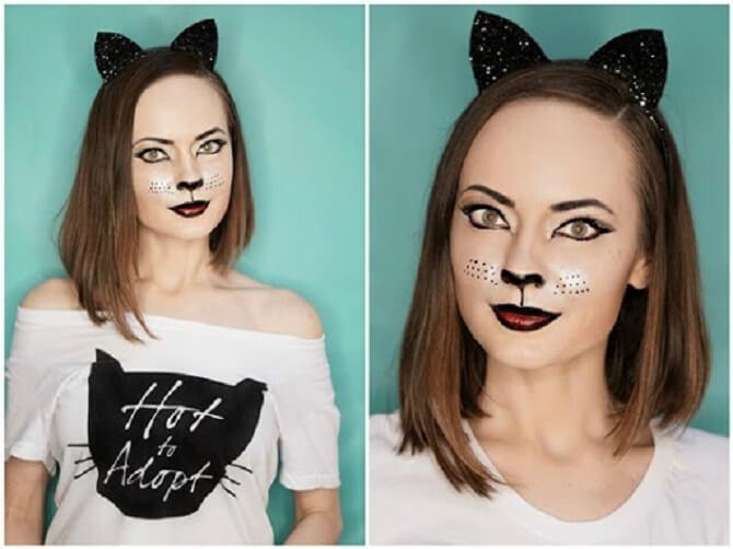 Легкий макияж на Хэллоуин: самые крутые идеи для взрослых и детей 5
