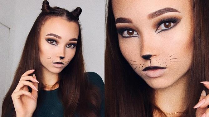 Легкий макияж на Хэллоуин: самые крутые идеи для взрослых и детей 6