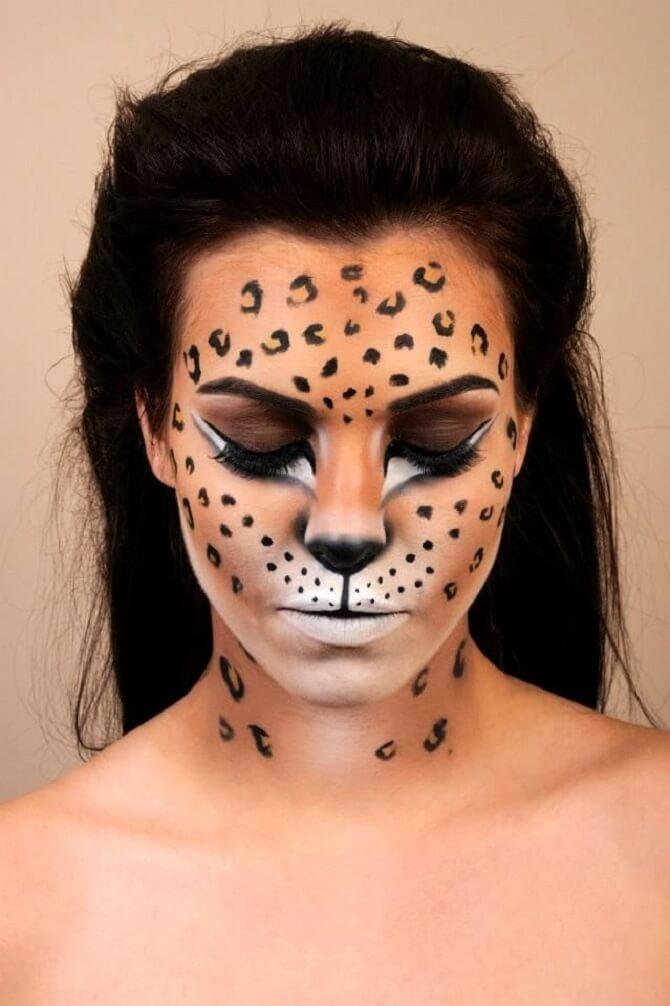 Легкий макияж на Хэллоуин: самые крутые идеи для взрослых и детей 8