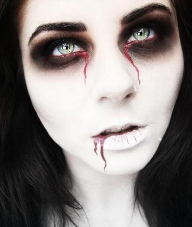 Легкий макияж на Хэллоуин: самые крутые идеи для взрослых и детей 9