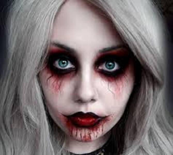 Легкий макияж на Хэллоуин: самые крутые идеи для взрослых и детей 10