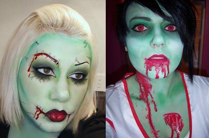 Легкий макияж на Хэллоуин: самые крутые идеи для взрослых и детей 11