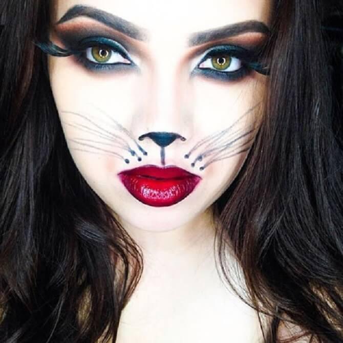 Легкий макияж на Хэллоуин: самые крутые идеи для взрослых и детей 15