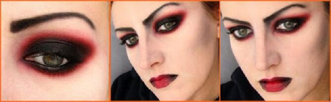 Легкий макияж на Хэллоуин: самые крутые идеи для взрослых и детей 17