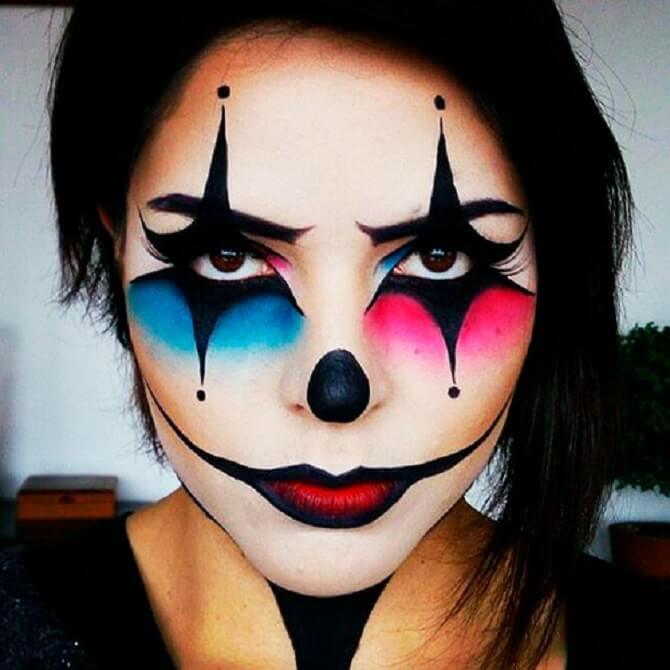 Легкий макияж на Хэллоуин: самые крутые идеи для взрослых и детей 24