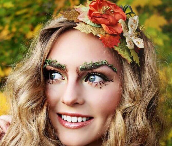 Легкий макияж на Хэллоуин: самые крутые идеи для взрослых и детей 26