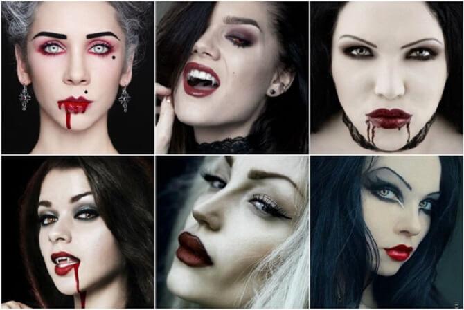 Легкий макияж на Хэллоуин: самые крутые идеи для взрослых и детей 33